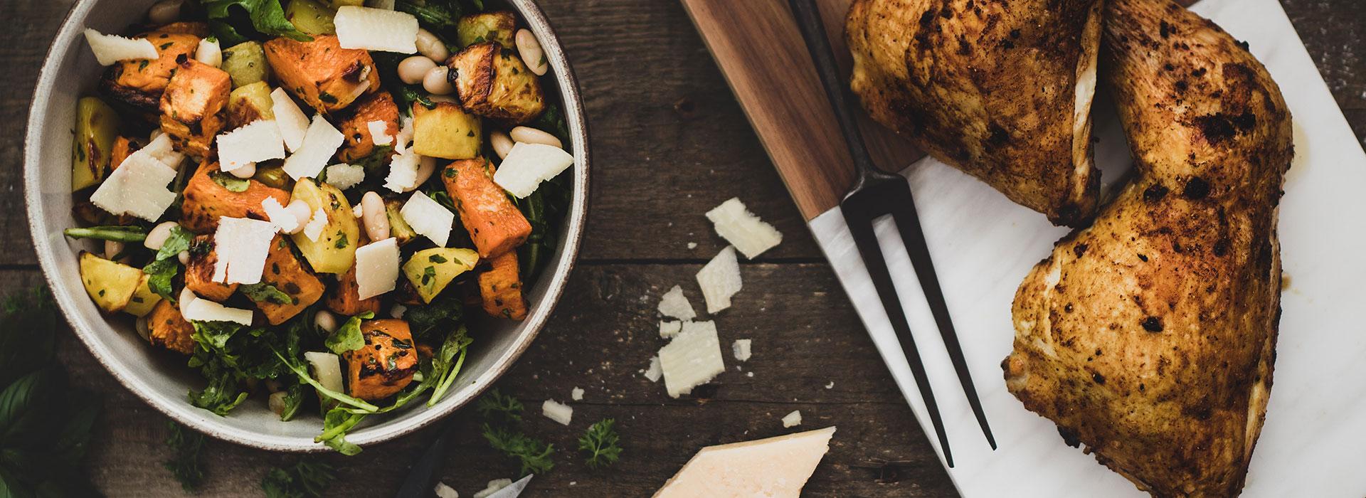 Kartoffelslalat mit Kräuteröl