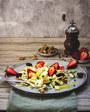 Erdbeer Fenchelsalat